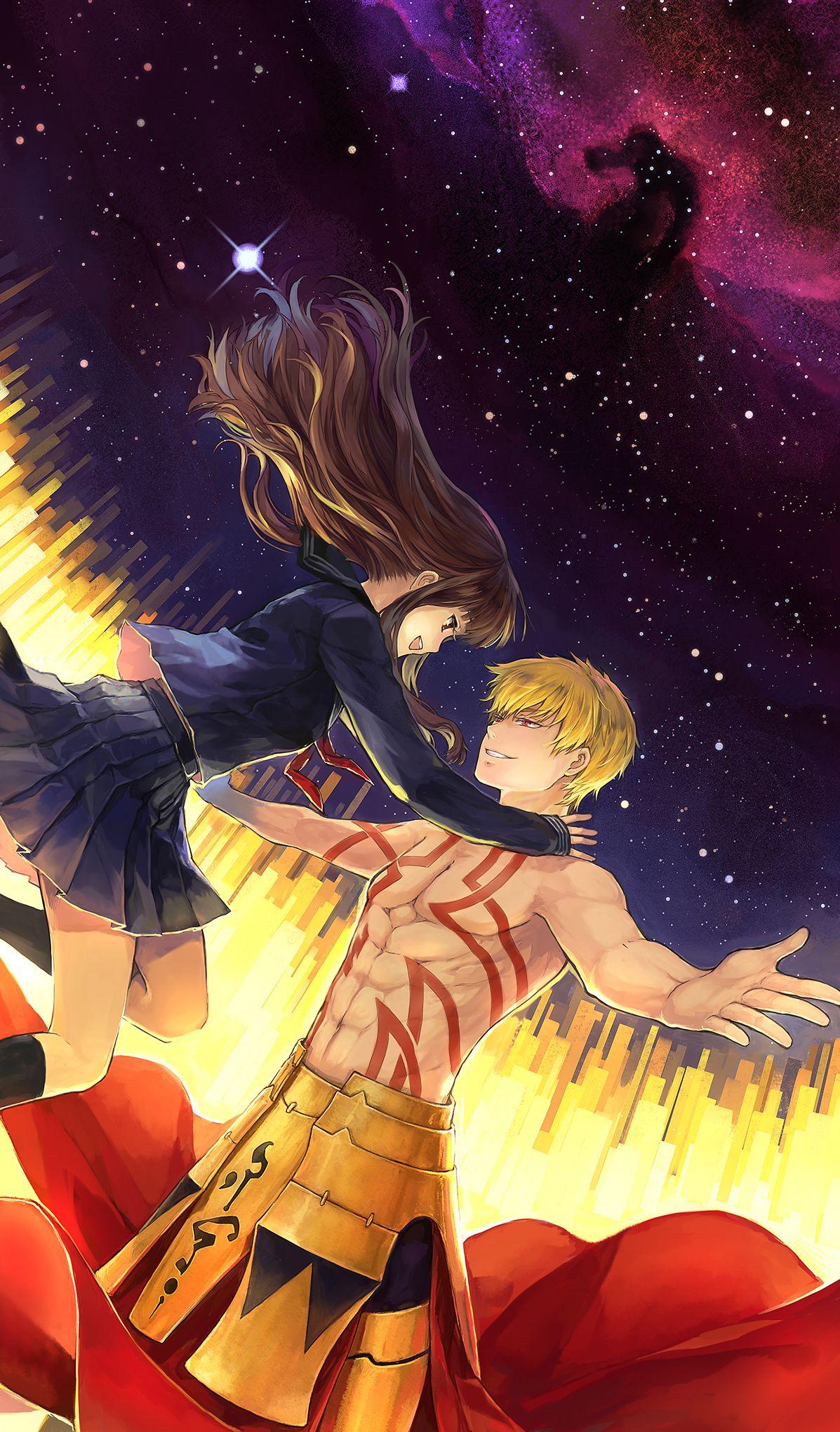 Fate Extra Gilgamesh Fate Anime Fate Anime Series