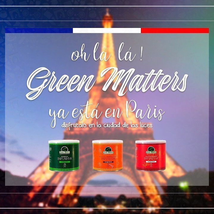 Now in Paris!! Find the best and unique @greenmattersec guayusa blend in the center of #lumièresdelaville #paris at @la_boutique_equatorienne . #france #guayusa #guayusarevolution #madeinecuador #cleanenergy #amazonenergy