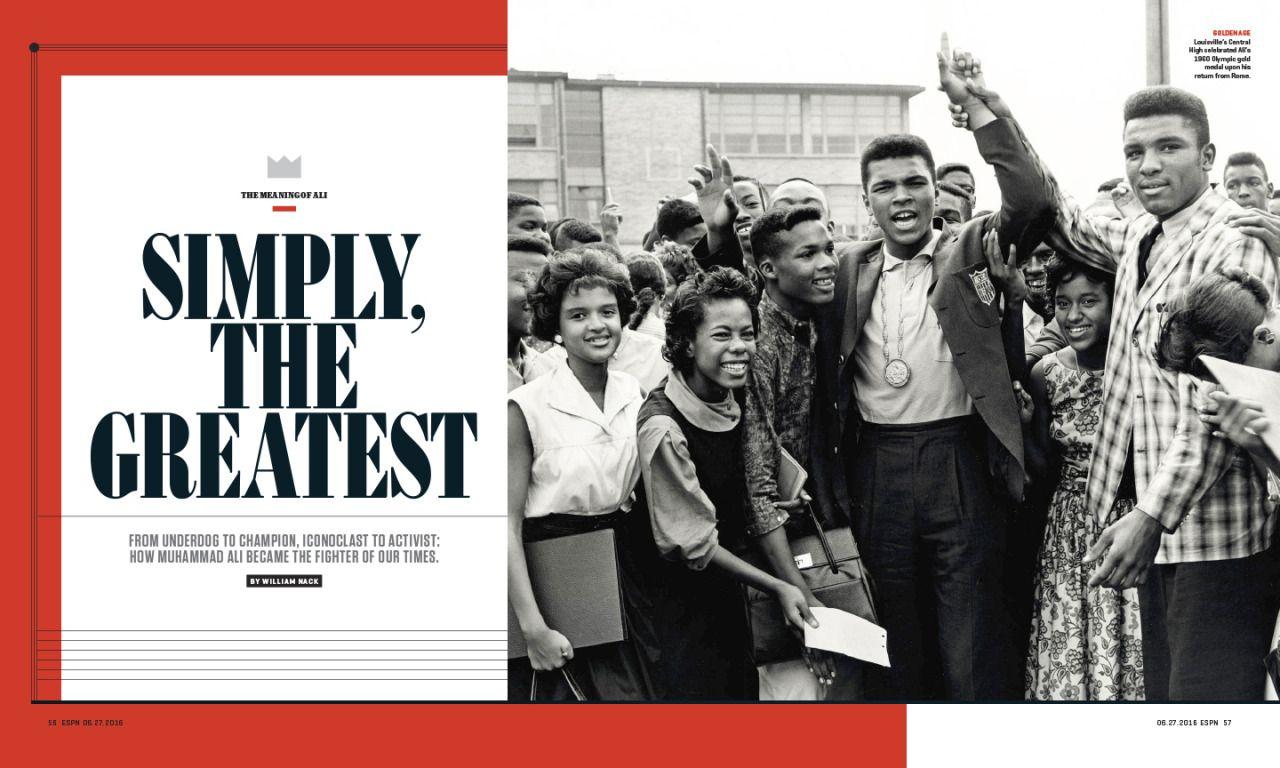 ESPN The Magazine / 0627 / The Muhammad Ali Issue
