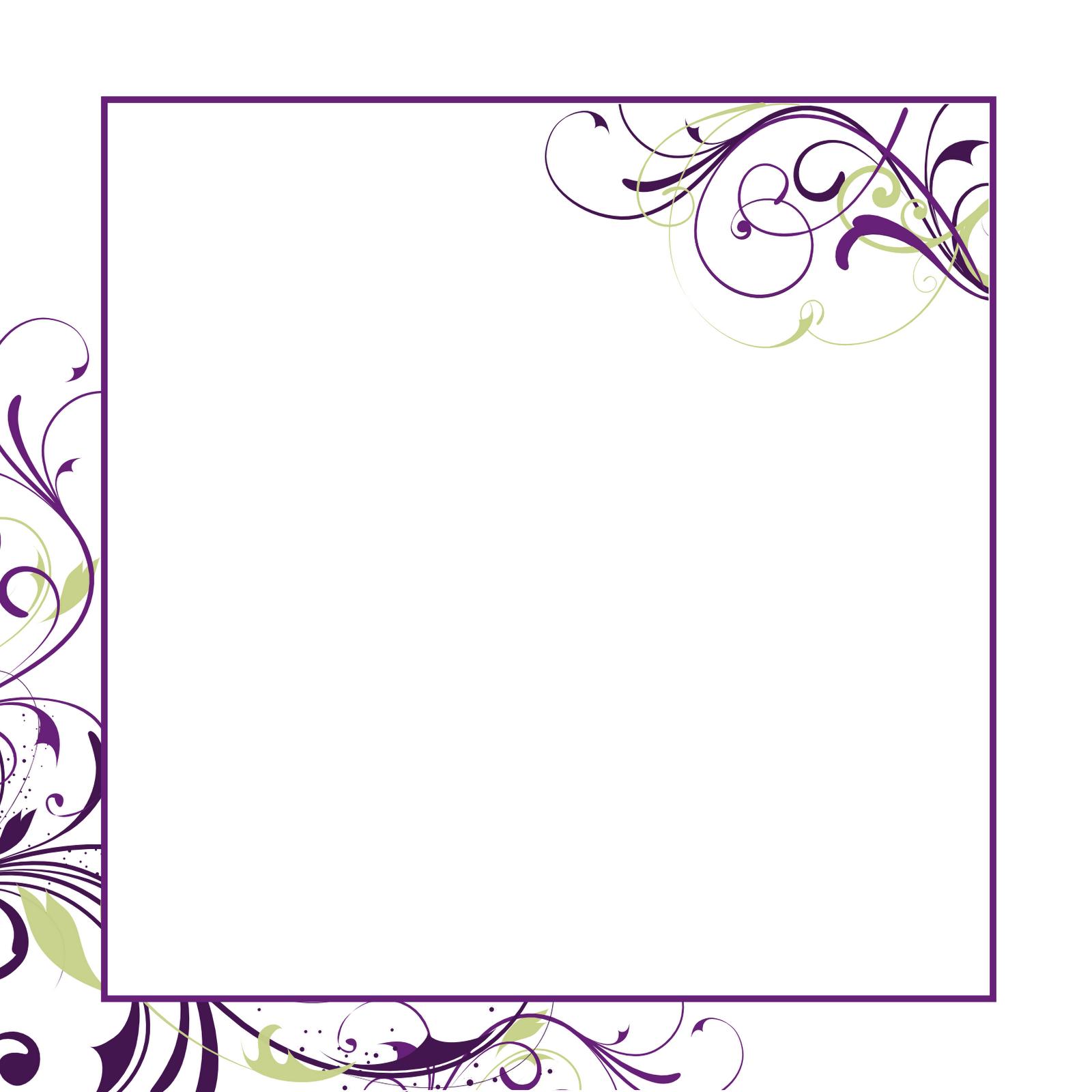 Blank Printable Invitation