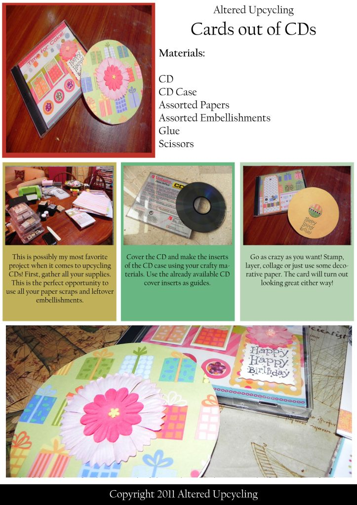 Here Is Another Project Sheet I Love To Upcycle As Y All Know And