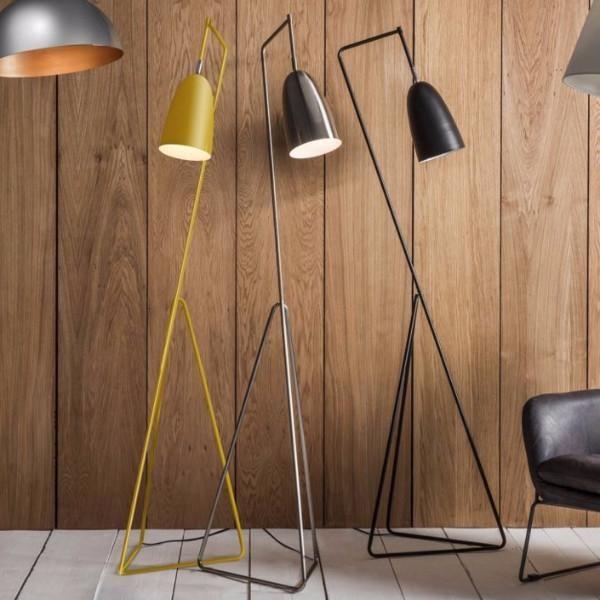 Bamboo Orbital Pendant Light | Metal floor lamps