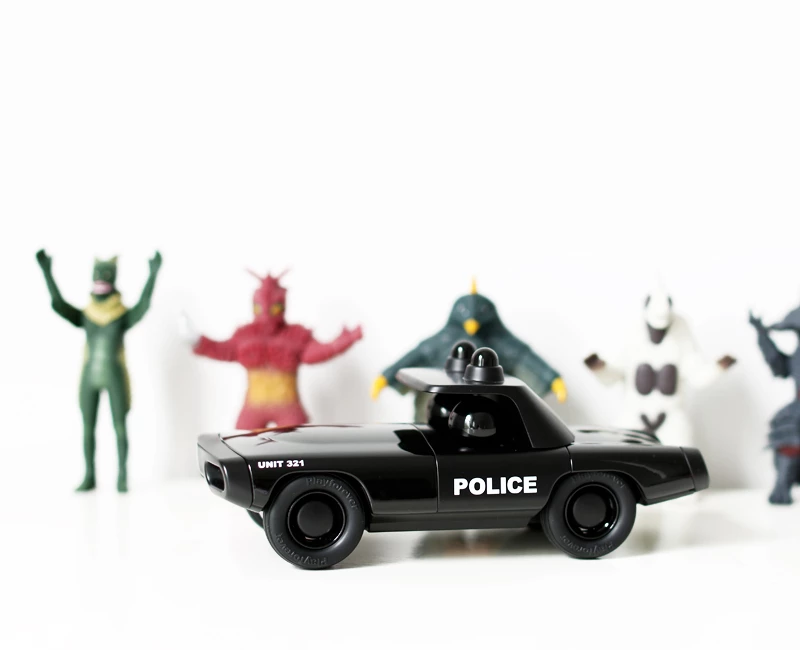 M104 Heat Shadow - Black Police Car — Playforever