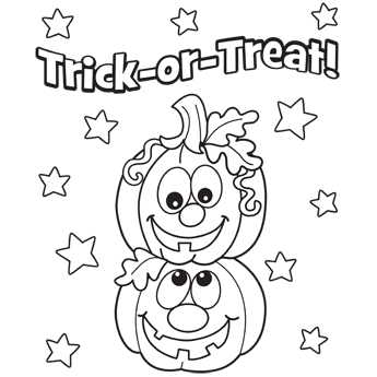 Pumpkins coloring page....this is a good site for cute free pages ...