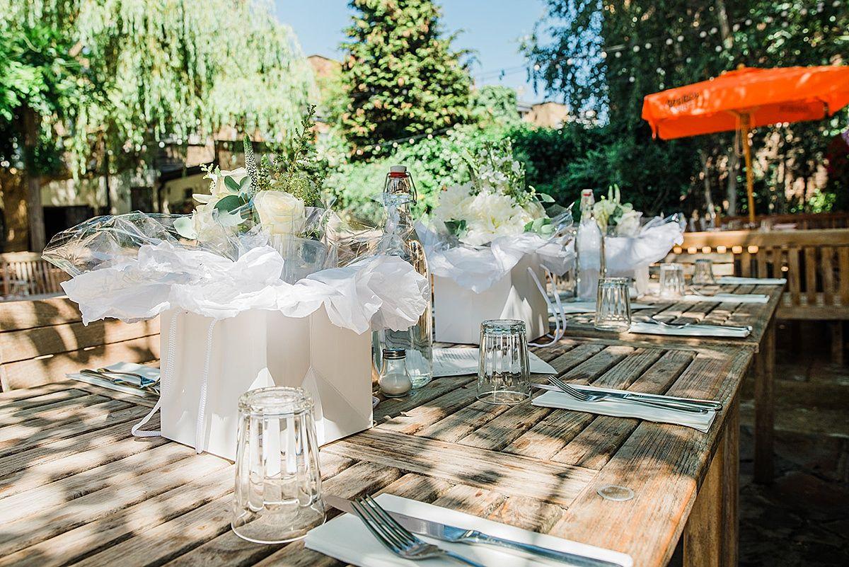 Secret Islington Town Hall Wedding London Pub Reception Pub
