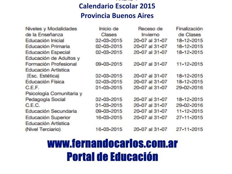 Calendario 2016 Argentina.Calendario Escolar Argentina 2015 Buscar Con Google 3 1