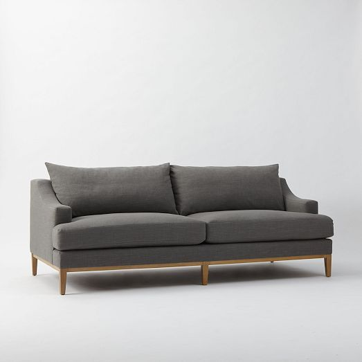 Montgomery Down Filled Sofa Westelm Possible Living Room Or Pb