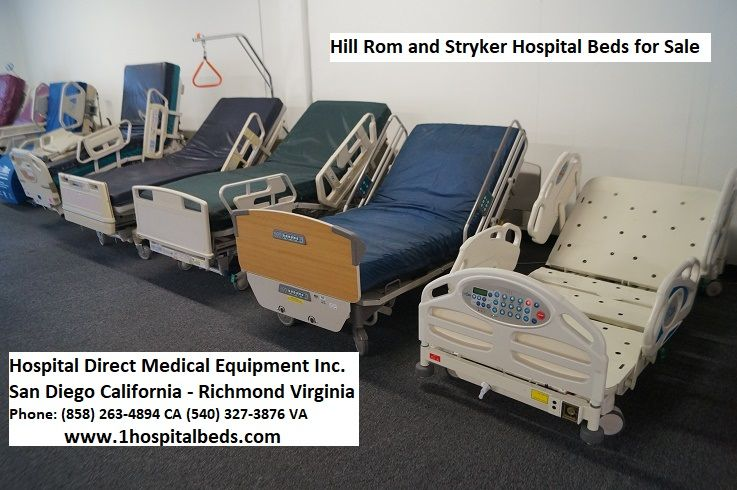 Hospital Beds Reconditioned Refurbished Used Electric Hospital Beds For Hospitals Surgery Centers Nursing Schools Long Ter In 2020 Beds For Sale Bed Hospital Bed
