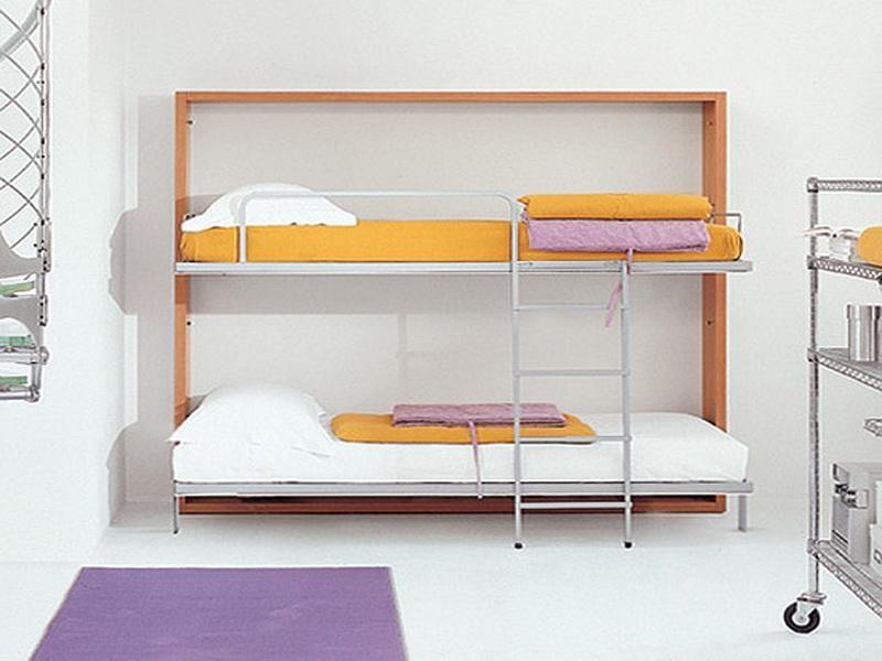 Slim Design Murphy Bed Bunk Beds