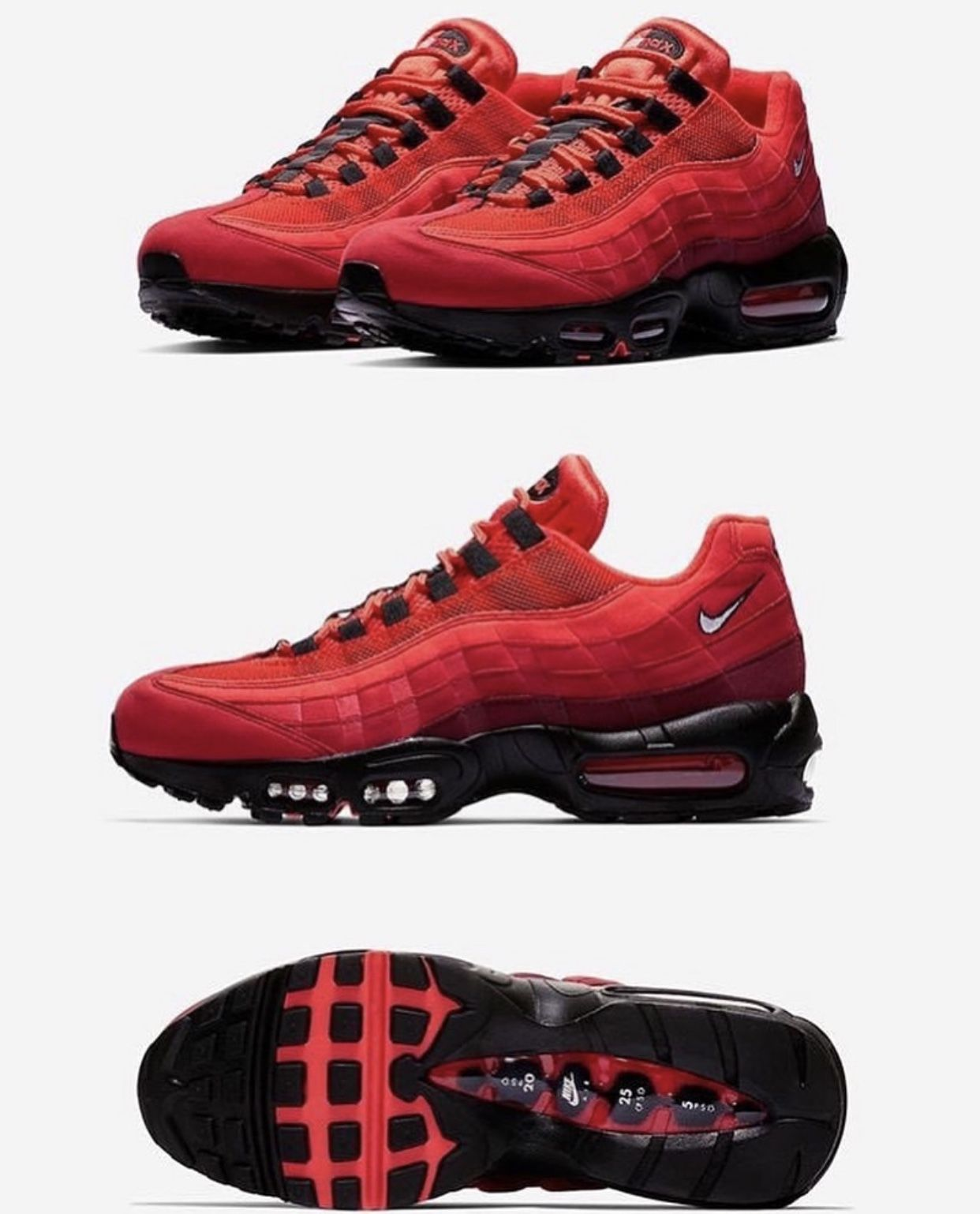 "new product 1ee06 c32e4 Nike Air Max 95 OG ""Habanero Red"""