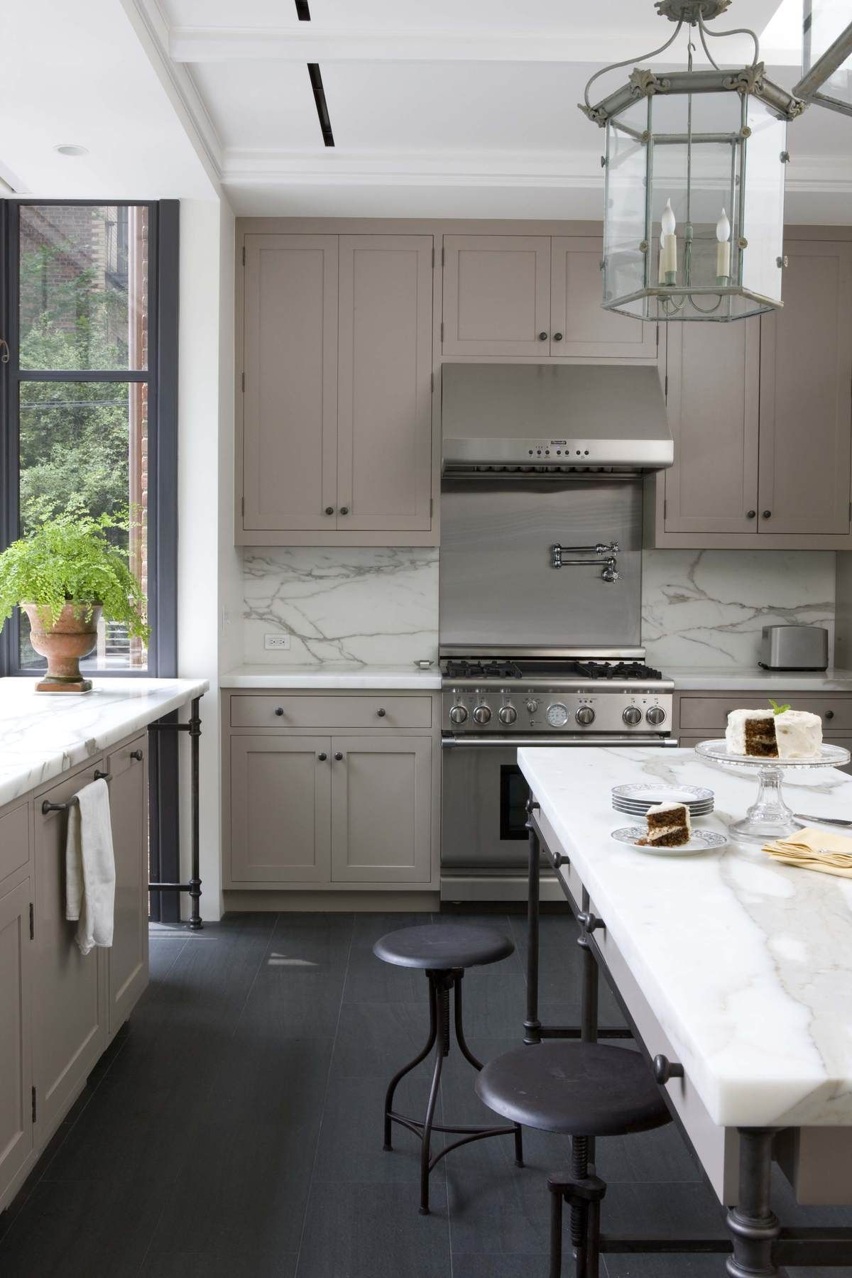 Brooklyn Rowhouse Robinson Grisaru Architecture Pc Archinect Kitchen Cabinet Styles Shaker Style Kitchen Cabinets Kitchen Design