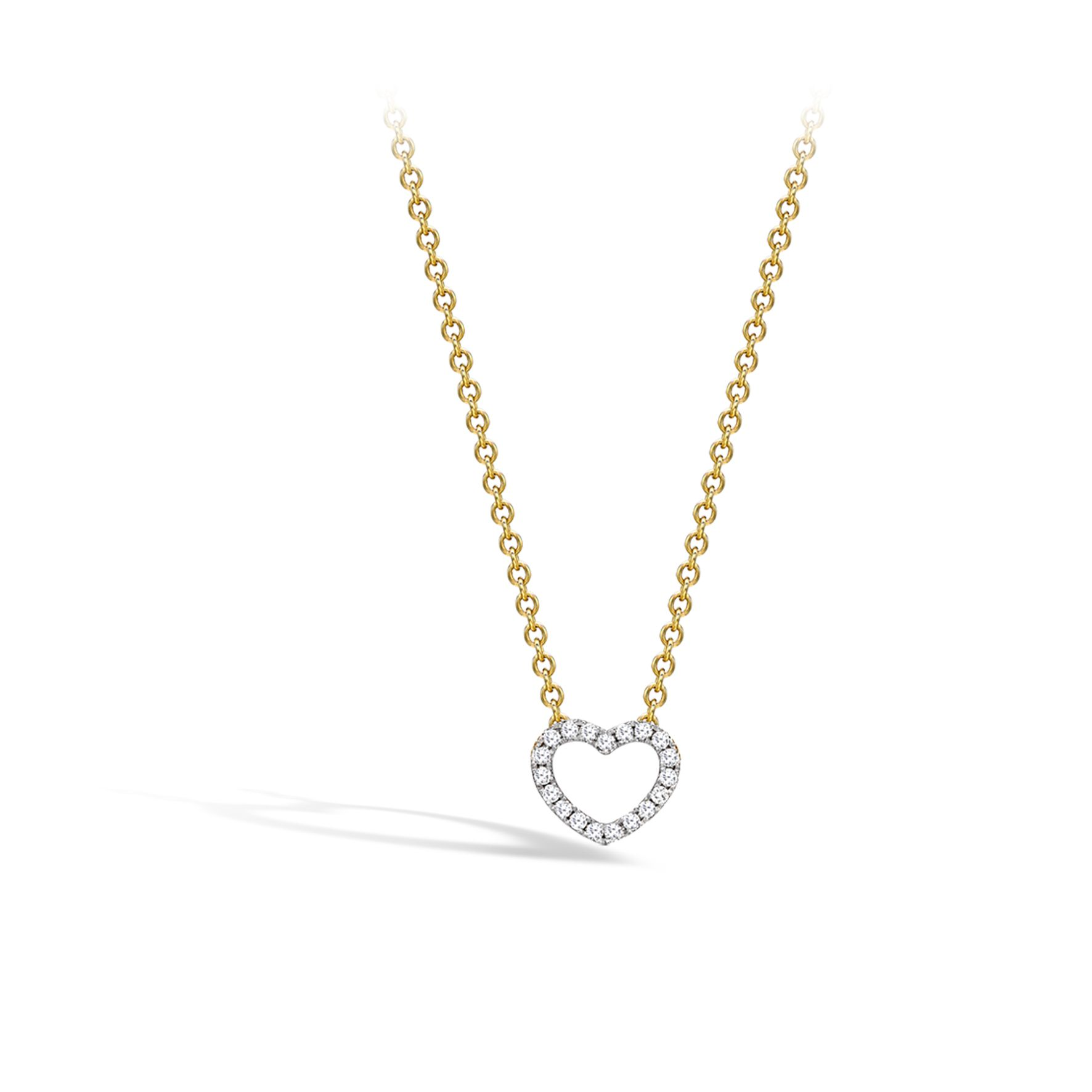 Eden diamond single heart necklace diamond diamond heart and pendants