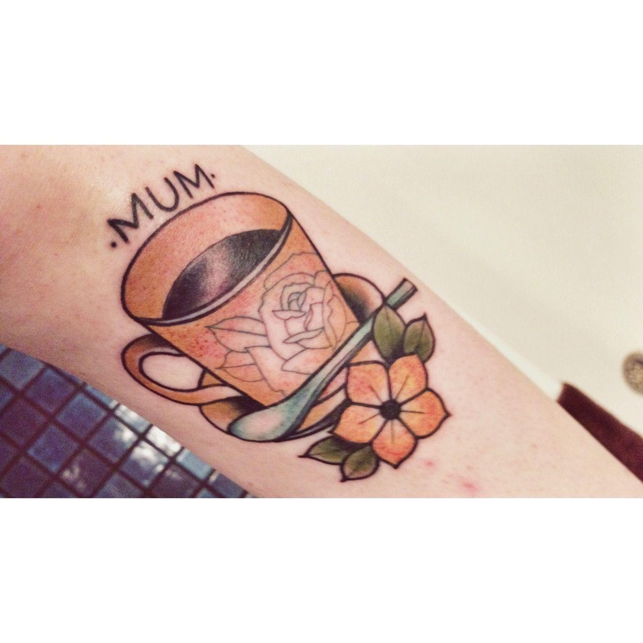 Done By Jon At Wild At Heart Tattoo Brisbane Qld Wild Heart Tattoo Tattoos Teacup Tattoo