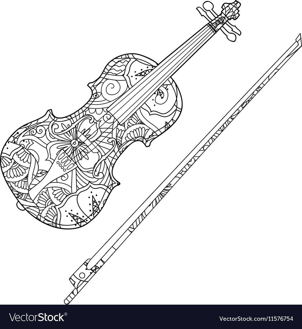 Awesome Coloring Page Violin That You Must Know You Re In Good