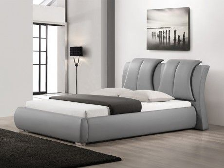 Polsterbett MARIUS - 160x200cm - Grau Betten Pinterest