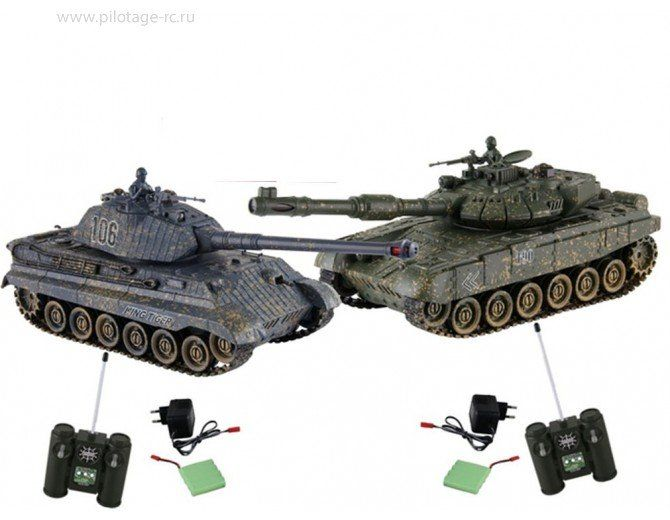 124 t90 vs king tiger color 2 - Tiger Pictures To Color 2