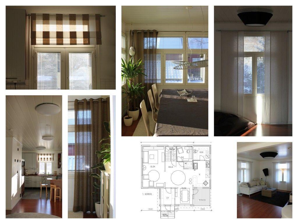 Salo Designin suunnittelema sisustus sisältäen valaistussuunnitelman sekä verhosuunnitelman.