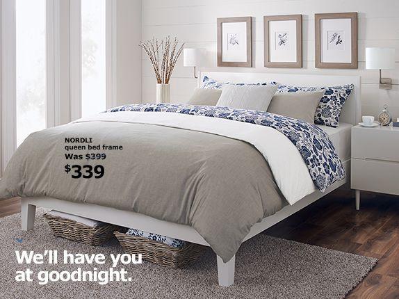 Nordli bed google search hanyl 39 s bedroom bedroom - Letto nordli ikea ...