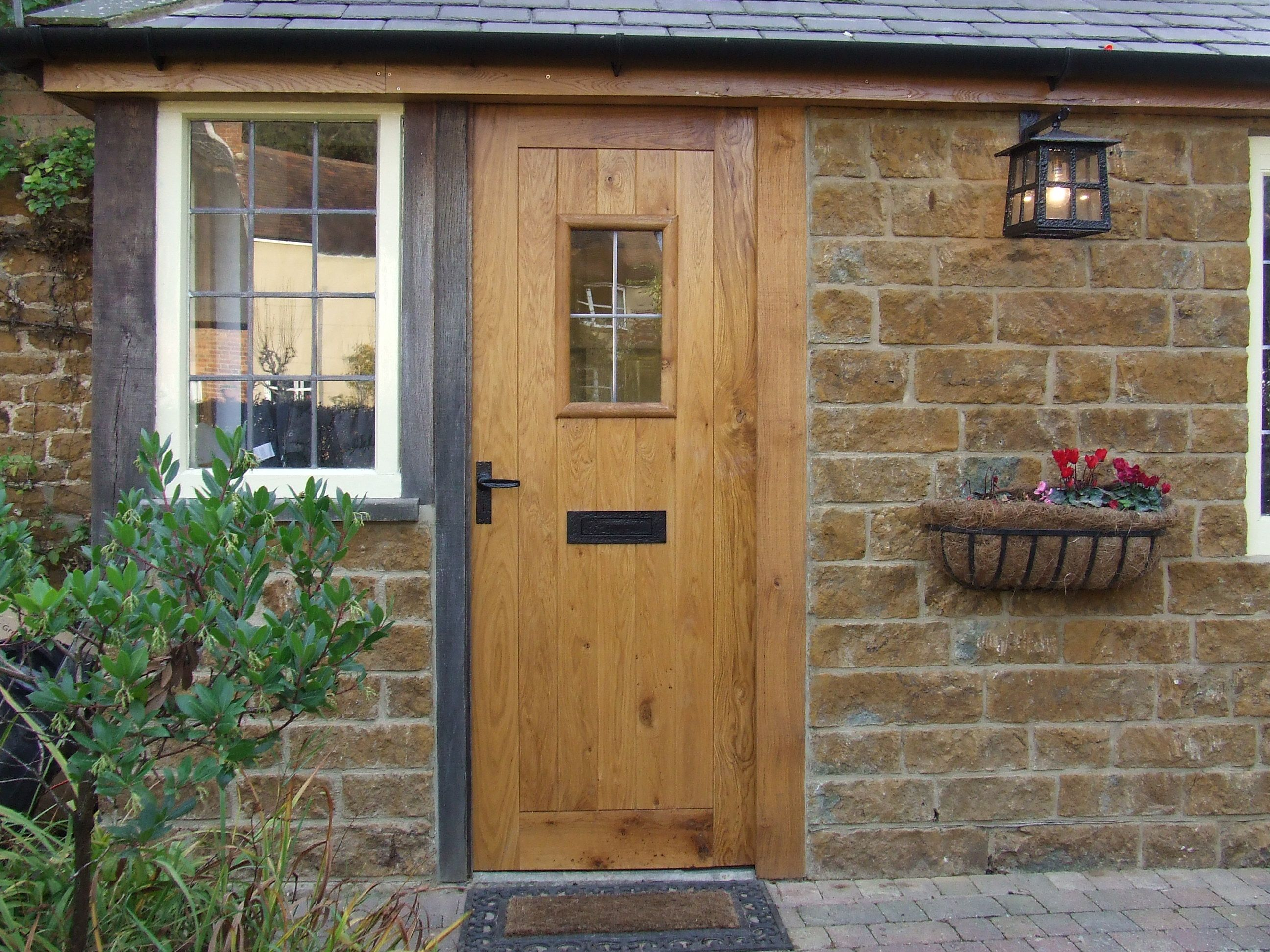 online store 476e5 8825d OX-Bow External Solid Oak Door | Our External Doors in 2019 ...