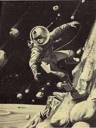Image result for vintage sci fi art