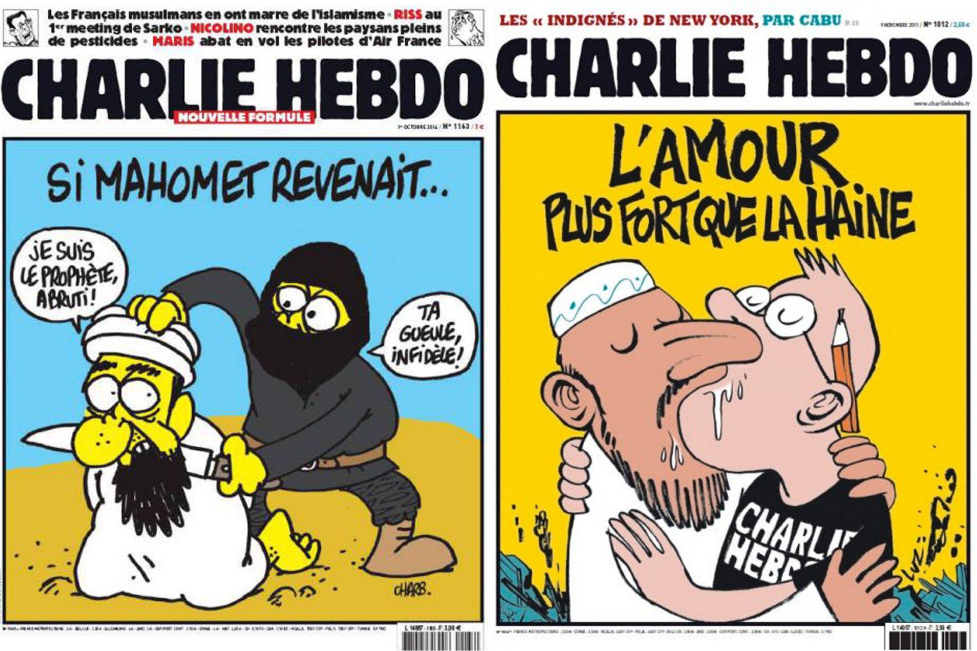 Charlie Hebdo French Satire Magazine S Shocking Covers Photos Frankrig
