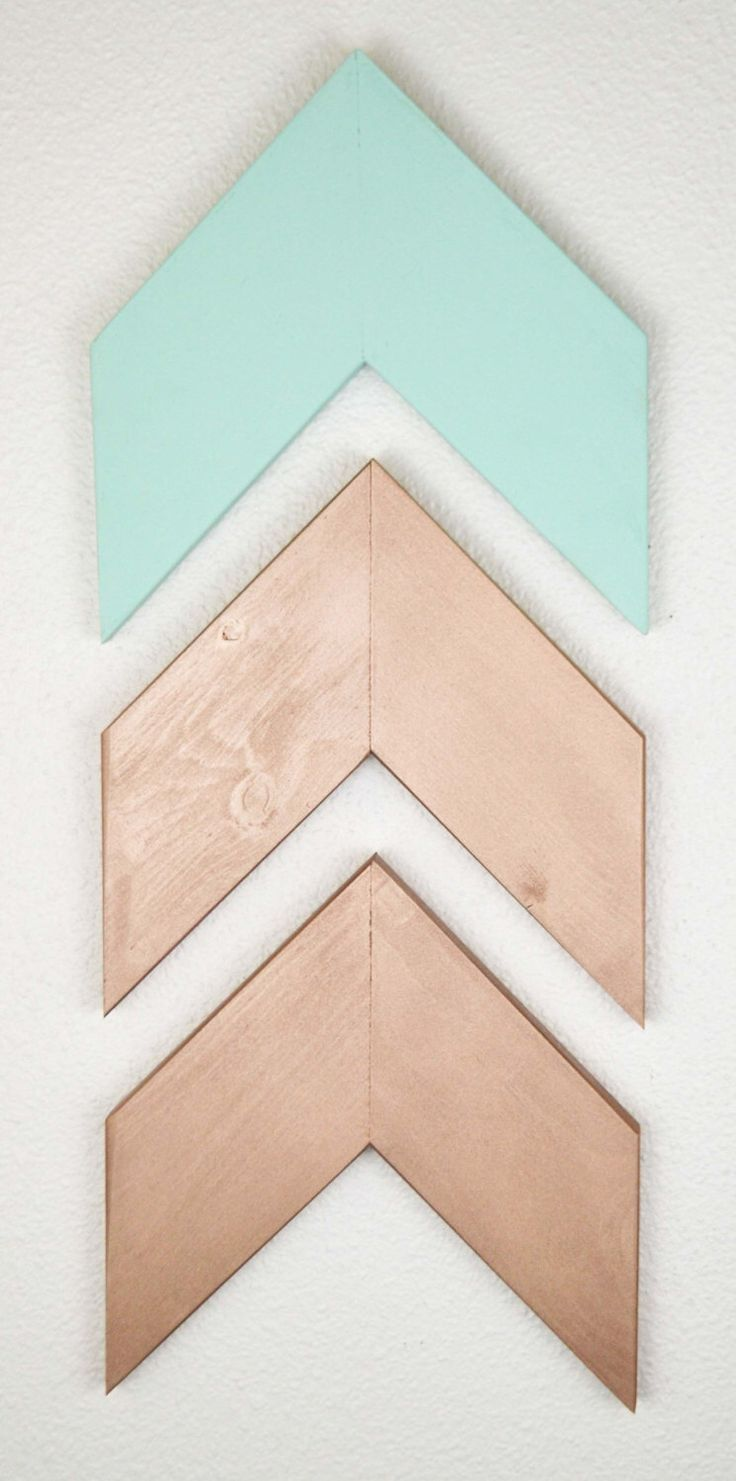 Mix And Match Wood Arrows Nursery C Mint Green
