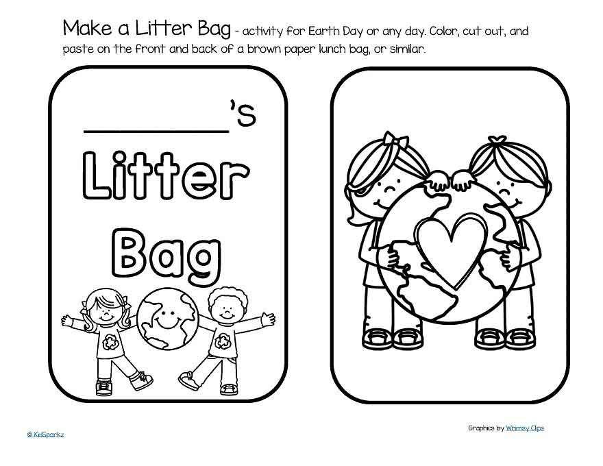 Earth Day theme activities and printables for preschool