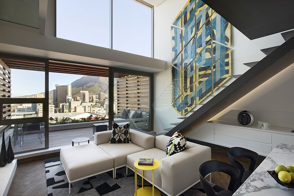 Striking Duplex In Cape Town Depicting Modern Africa By Saota