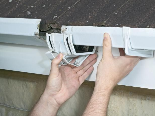 Tips for Cleaning and Repairing Gutters | Flat roof repair ...