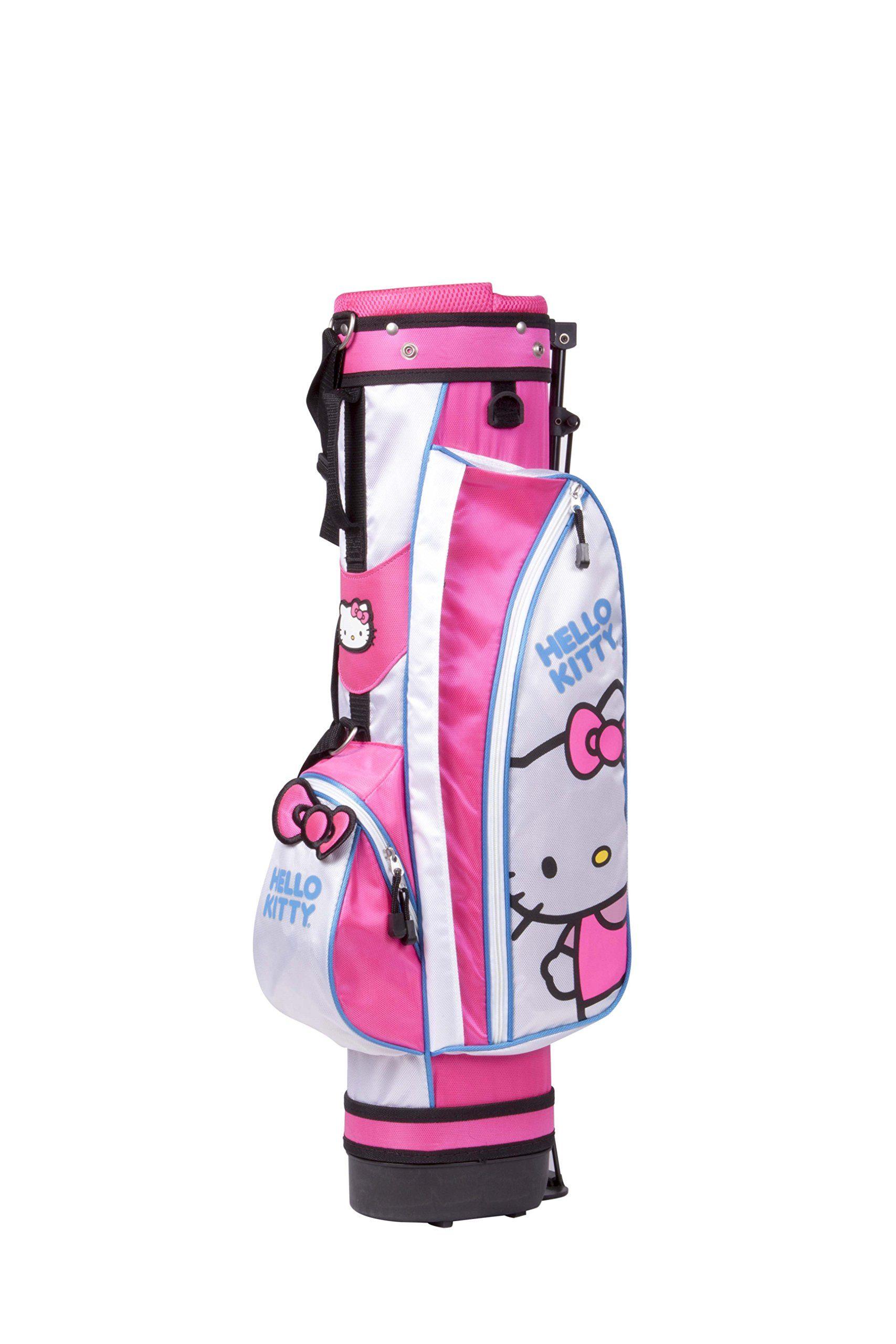 Golf Clubs Hello Kitty Sports Girls Junior Golf Set 35 Years Graphite Pink Golf Set Golf Tips Golf