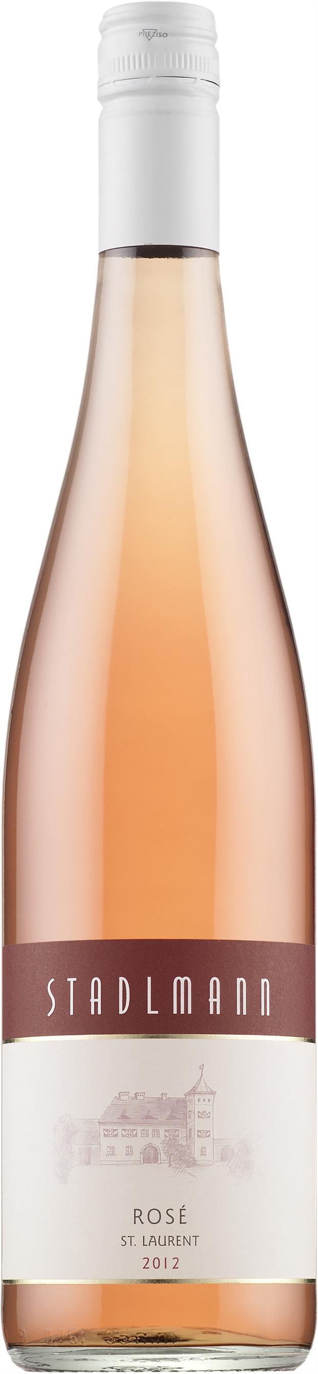 Stadlmann Rosé St. Laurent 2015 roseviini rose luomu 13 e
