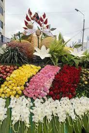 Fiesta De Las Flores Y Las Frutas Ambato Ecuador Detalle