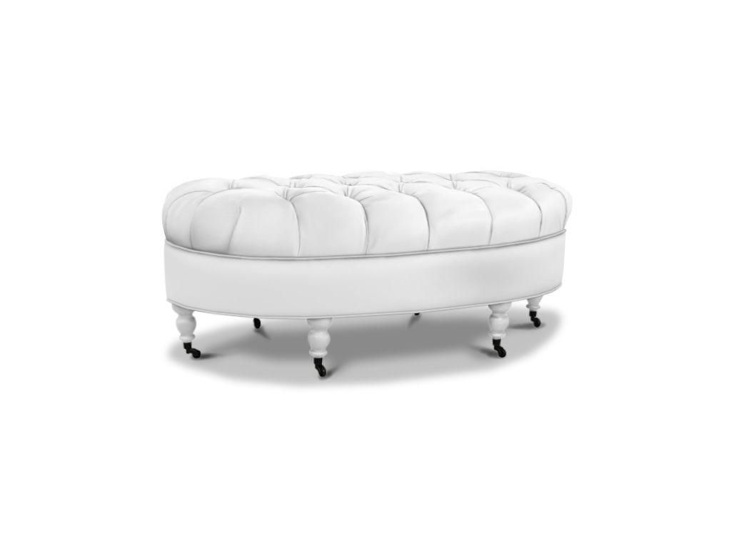 The Sweet Tea Ottoman From Marty Mason Collected Home Has Casters And A  Tufted Top. Customize With One Of Our Fabrics And Your Choice Of Wood  Finish.