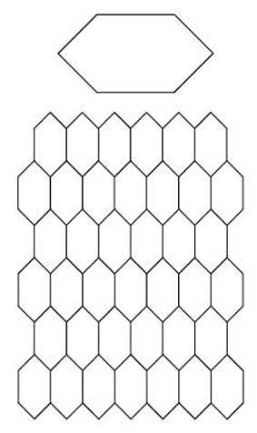 English Paper Piecing Honeycombs Pattern English Paper Piecing Paper Piecing Quilts English Paper Piecing Quilts