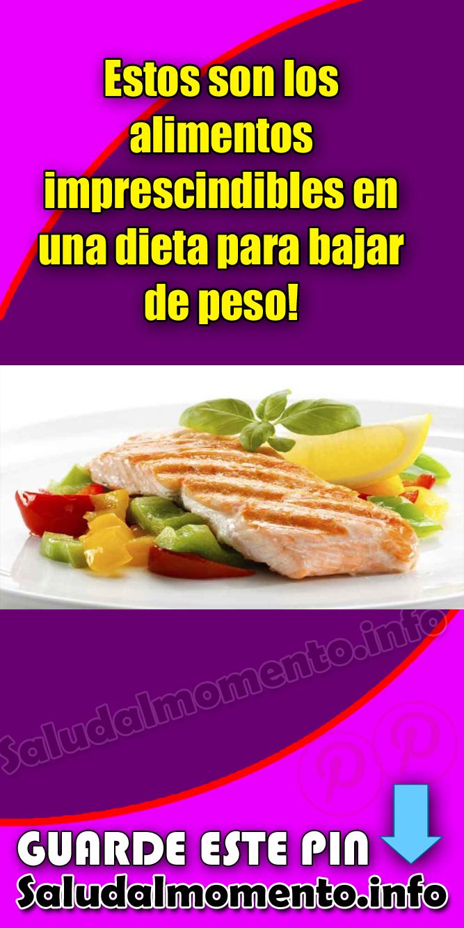 alimentos imprescindibles en una dieta mas