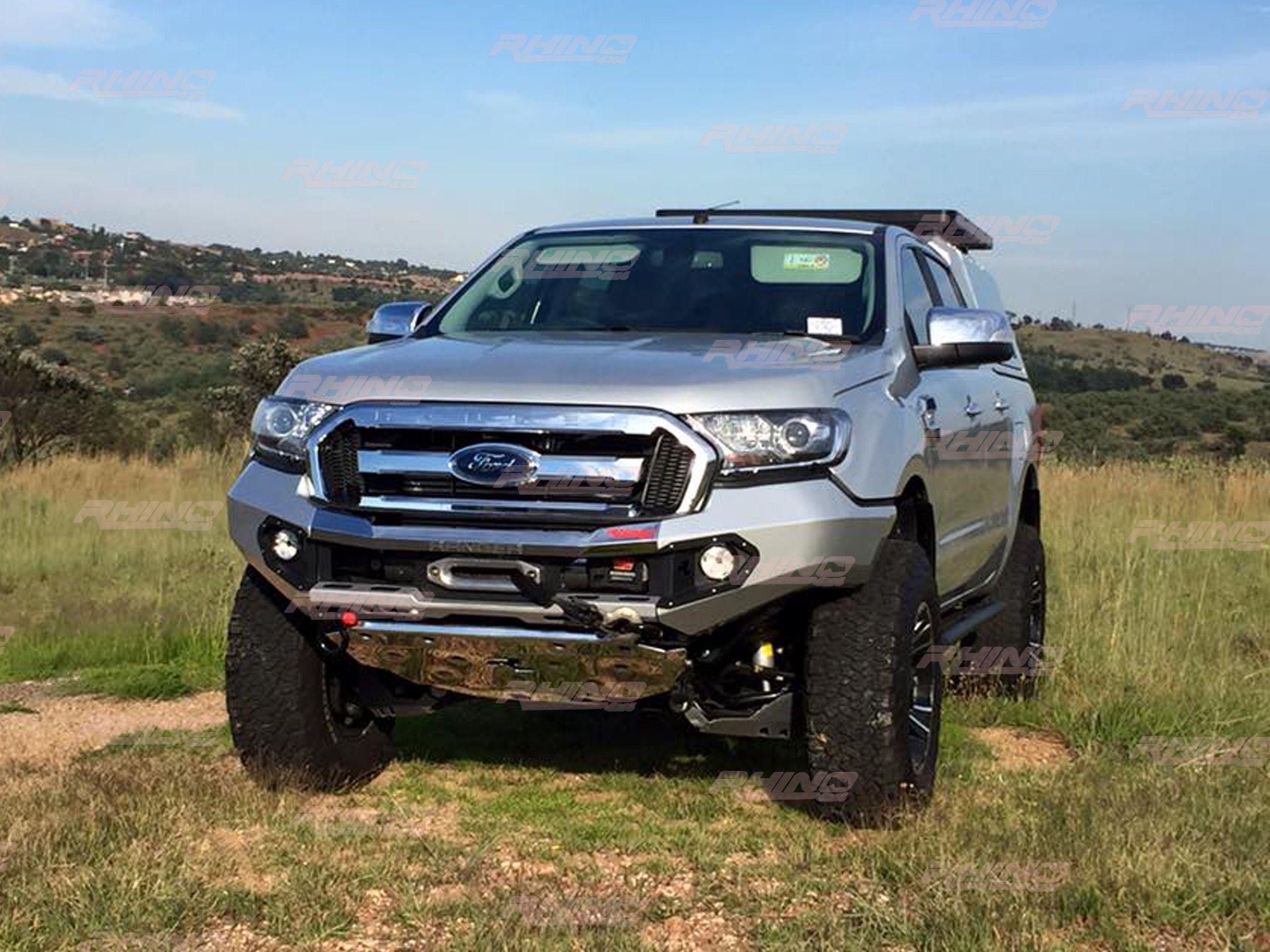 New evolution 3d front bumper for ford ranger t7 2016