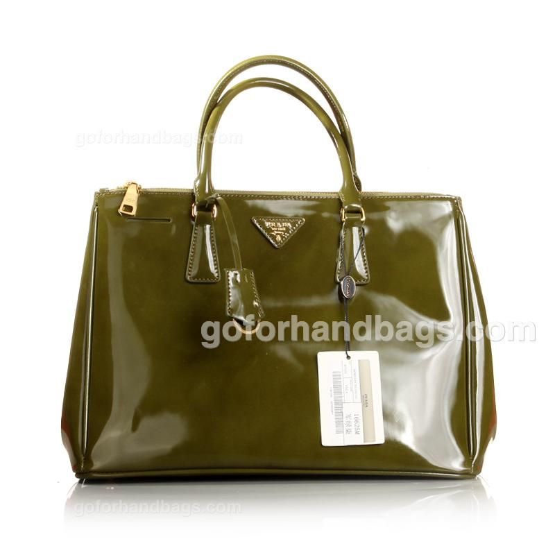 647157c440e8 Prada 1 1 Grade Saffiano Lux Patent Leather Tote Bag