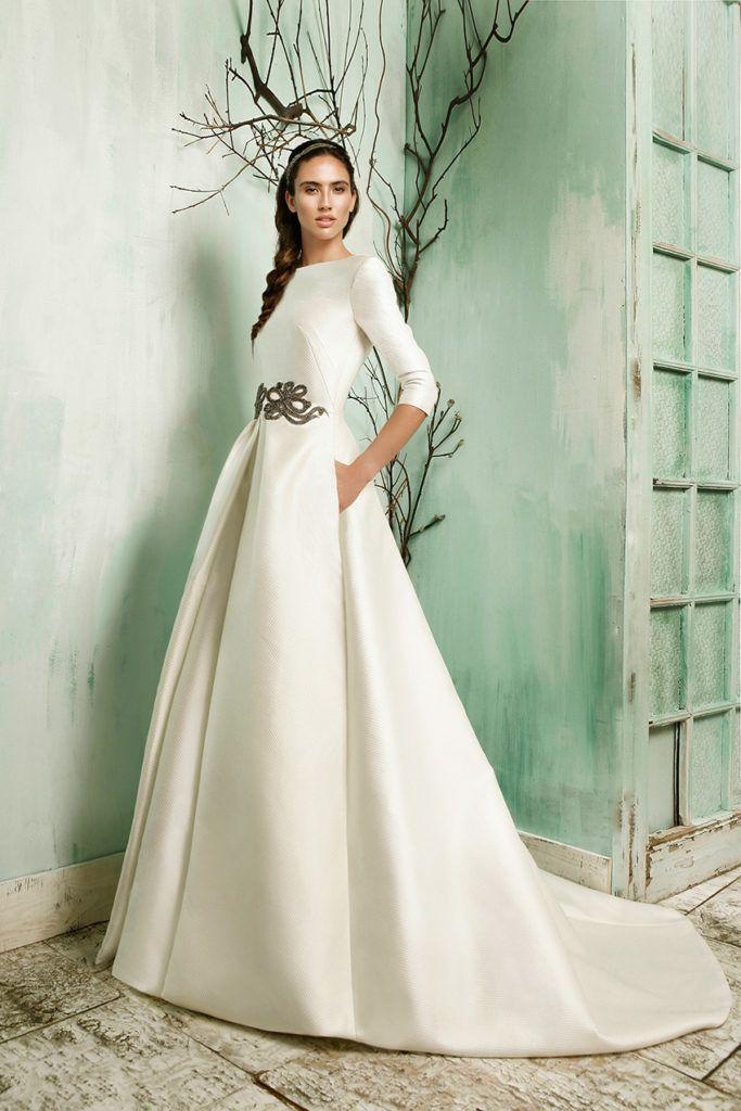 tendencias vestidos de novia | vestido novia informal | Pinterest ...