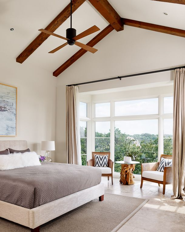 Our House Tour in Austin Home Bedrooms, Bedroom ceiling and