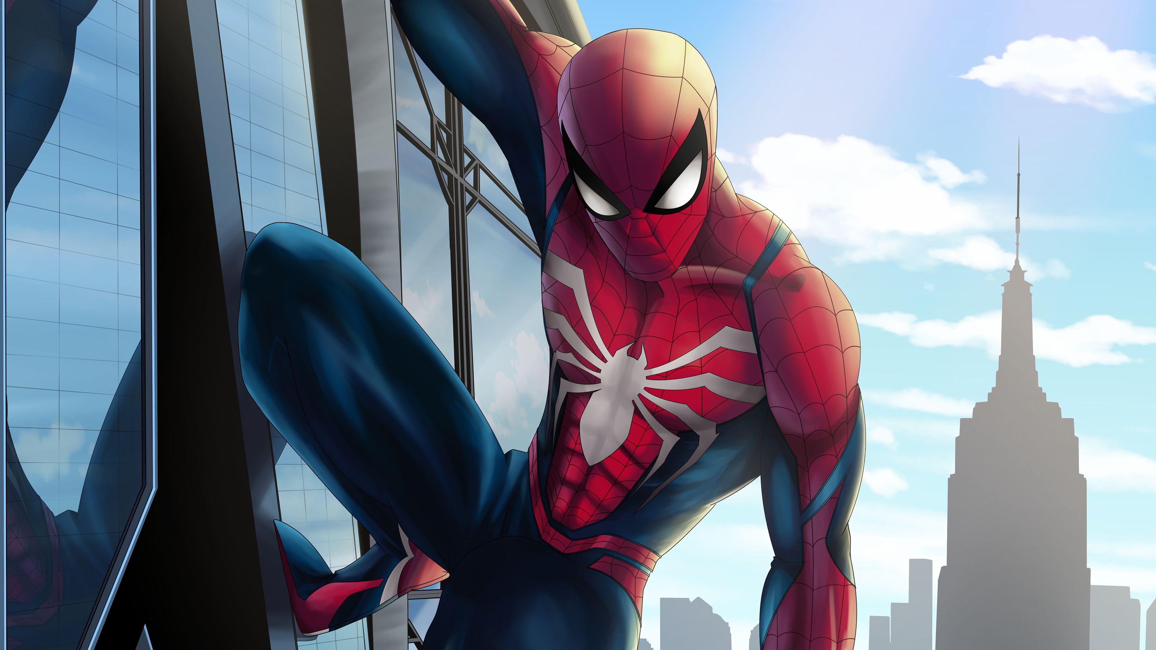 Insomniac Spiderman 4k Superheroes Wallpapers Spiderman Wallpapers Hd Wallpapers Digital Art Wallpapers Behance Wal Spiderman Superhero Wallpaper Superhero