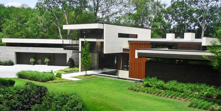 Modern Architecture Atlanta an atlanta home exemplifies postmodern architecture, blending