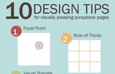 10 consejos de diseño para páginas de álbumes visualmente agradable