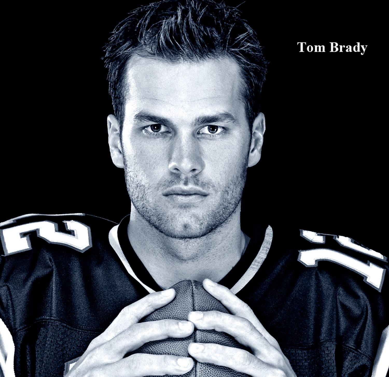 Tom Brady American Football Quarterback For The New England Patriots Of The National Football Leagu Tom Brady New England Patriots Football Tom Brady Patriots