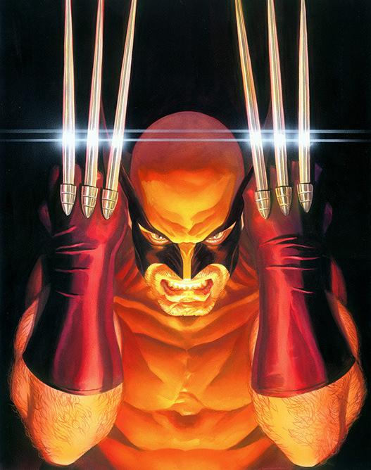 Wolverine by Alex Ross (de los trajes más feos de Lobezno, jejeje)