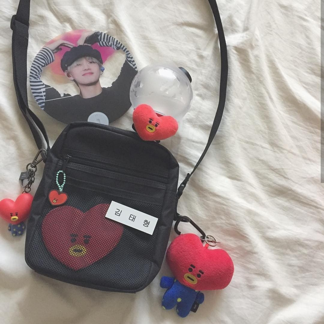 R U V O Bts Bag Bts Merch Concert Bags