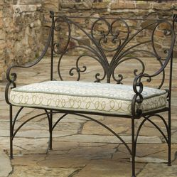 Wrought Iron Bench S Izobrazheniyami Metallicheskaya Mebel