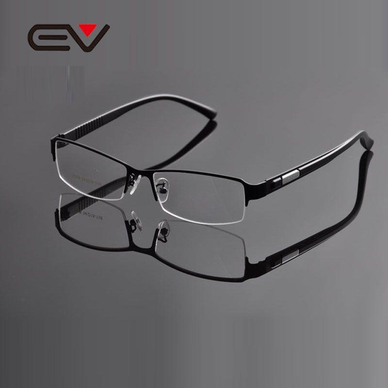 2015 EV Metal Business Spectacle Frame Mens Half Frame Optical Frame ...