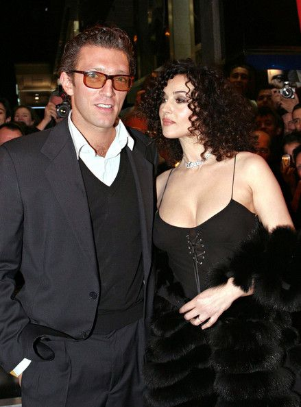 Vincent Cassel Monica Bellucci In Opening Ceremony Of The