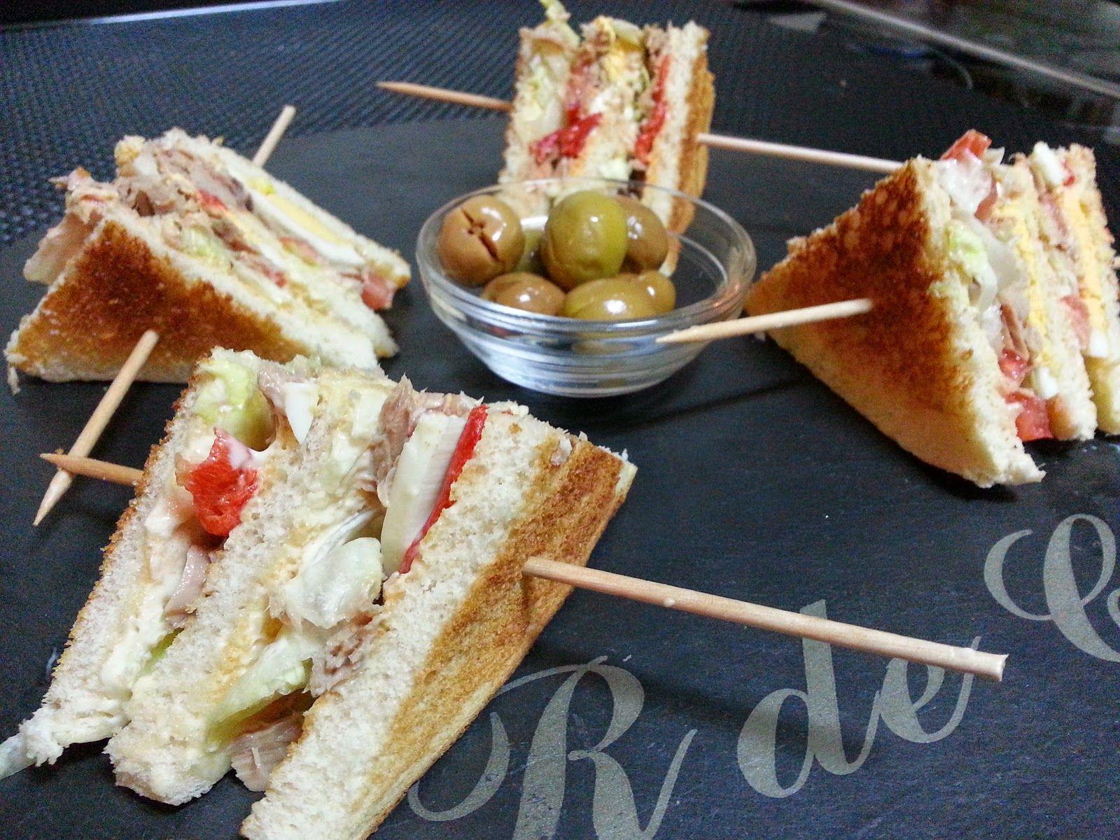 LA COCINA DE PEDRO Y YOLANDA: Sandwich vegetal con atún
