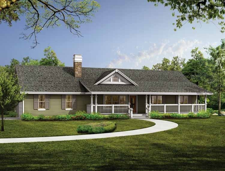 Ranch House Plan With 1408 Square Feet And 3 Bedrooms From Dream Home Source House Plan Code Dh Ranch Style Homes Ranch House Designs Ranch Style House Plans